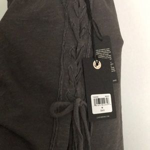 Lucky Brand Tops - NWT Lucky Brand Nashville side lace up top